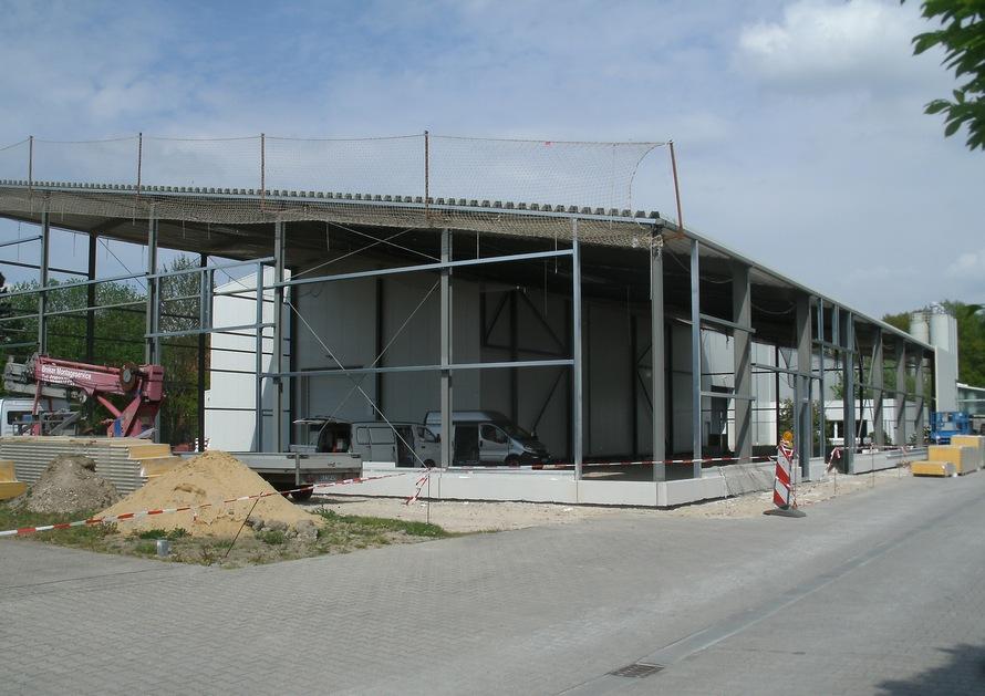 Anbau Lagerhalle, Brüggen